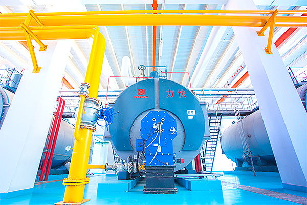 Mengniu Dairy Co., Ltd. 20 tons integrated condensing steam boiler